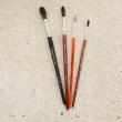 Haarpinsel duenn, Nr. 4 / Pincel pelo No. 4