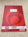 Heft DIN A4, kariert, Lineatur 28 / Cuaderno DIN A4, Lineatura 28