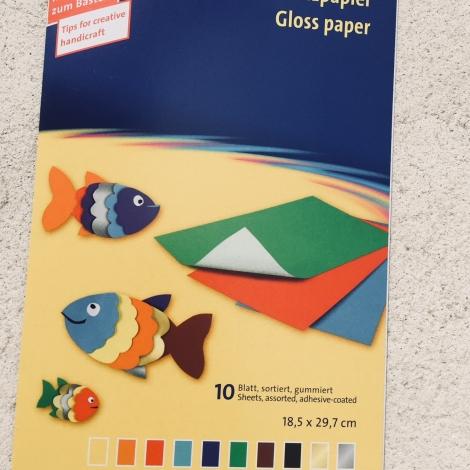Buntpapier / Papel charol