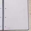 Spiralblock DIN A4, kariert /Bloc espiral DIN A4, cuadros