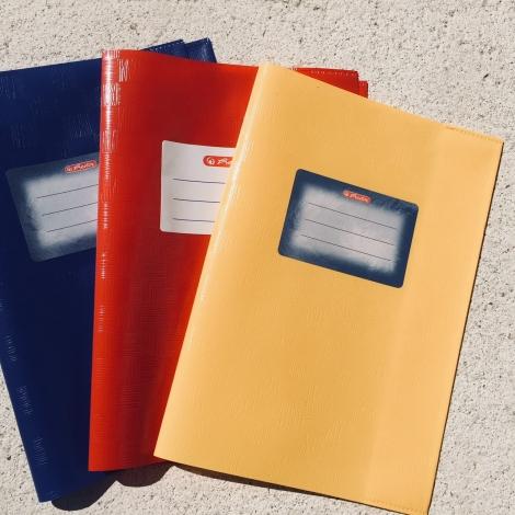 Heftumschlag DIN A5, rot / Funda DIN A5, roja